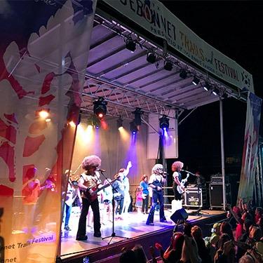 Ennis festival live music