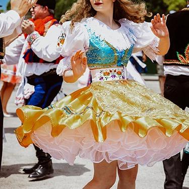 Ennis festival dancer