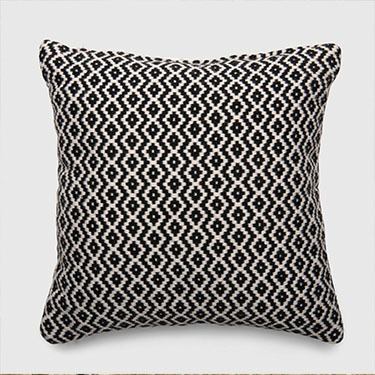 Threshold Square Woven Diamond Outdoor Pillow
